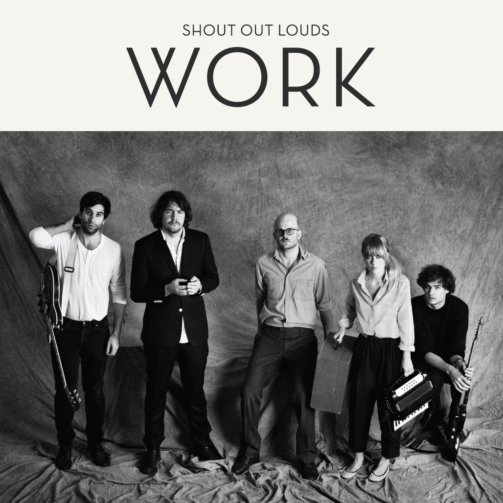 CD : Shout Out Louds - Work (CD)