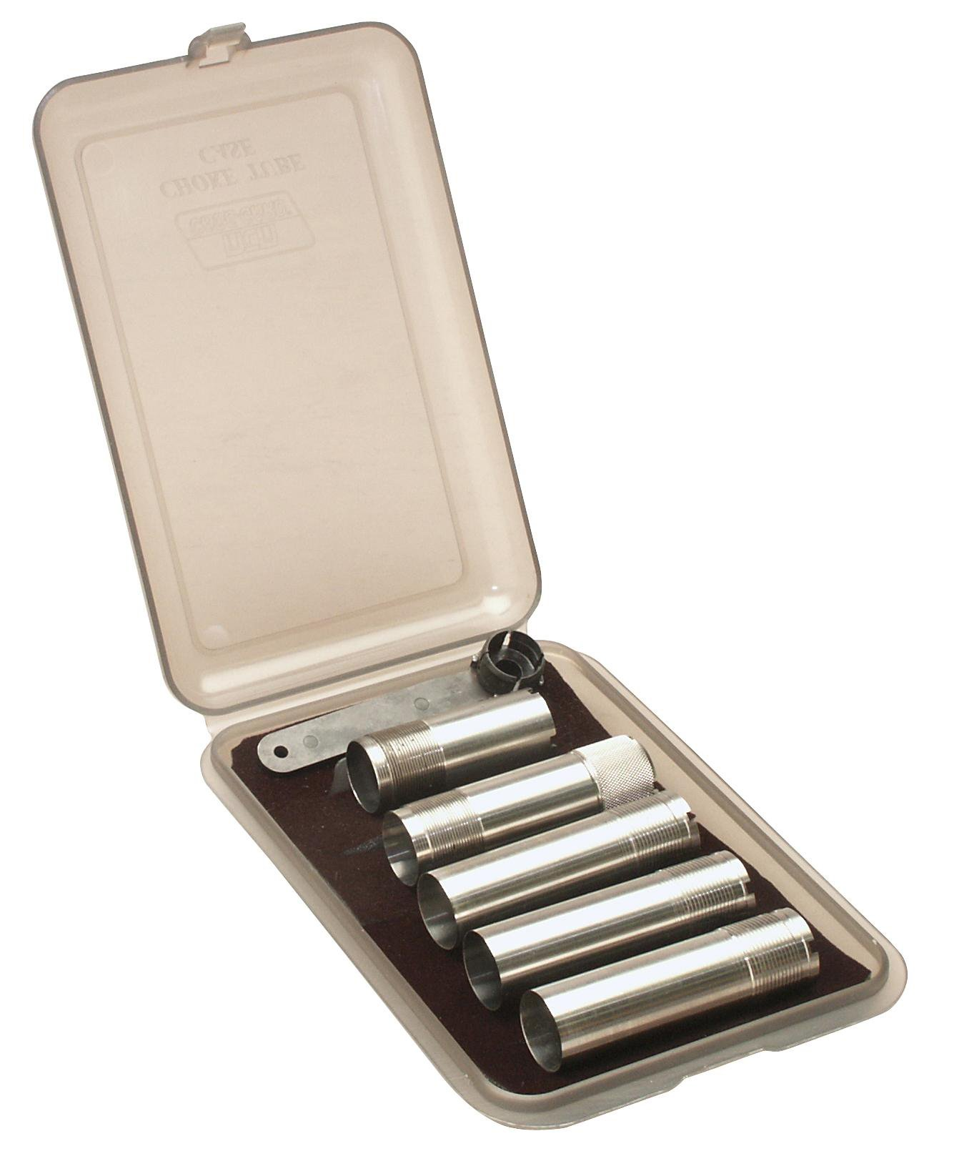 MTM - Choke Tube Case Holds 6 Ext. Chokes - Smoke