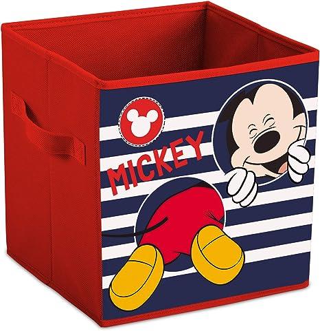 Mickey Mouse Disney - Caja Plegable para Juguetes: Amazon.es: Hogar