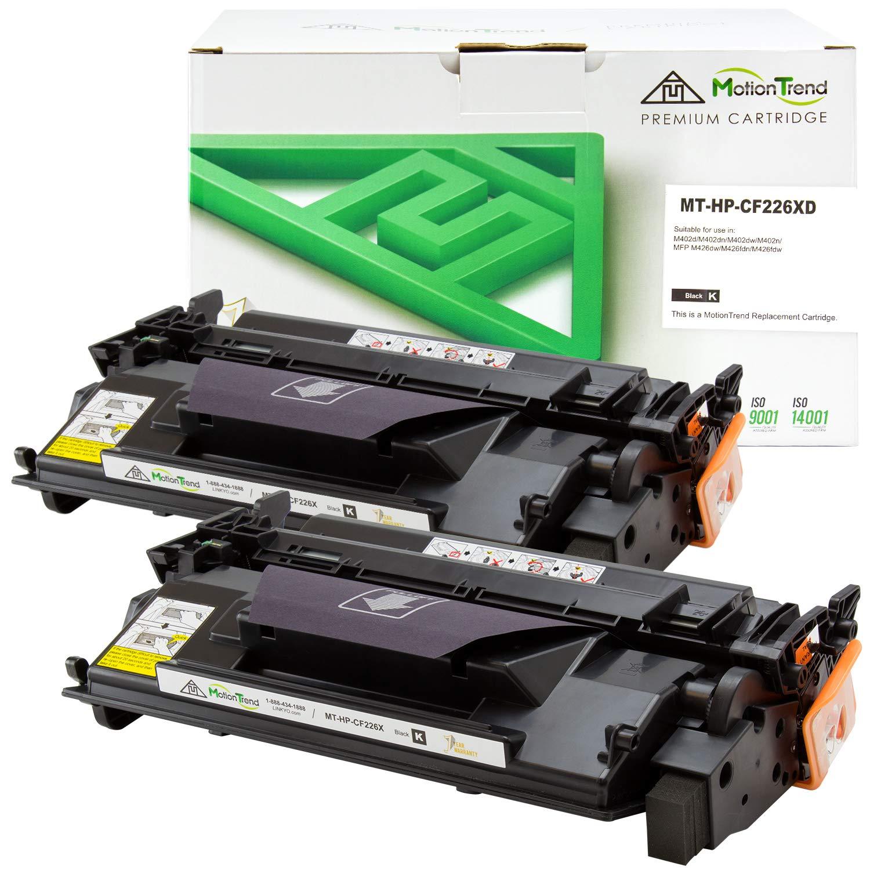 Toner Alternativo ( X2 ) Alta Capacidad Negro MOTIONTREND 26X CF226X