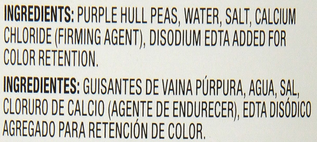 Amazon.com : Parade Purple Hull Peas, 15 Ounce (Pack of 24) : Grocery & Gourmet Food