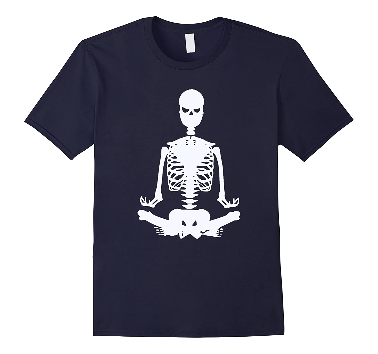 Yoga Skeleton Halloween Costume T Shirt for man,woman,kids-T-Shirt
