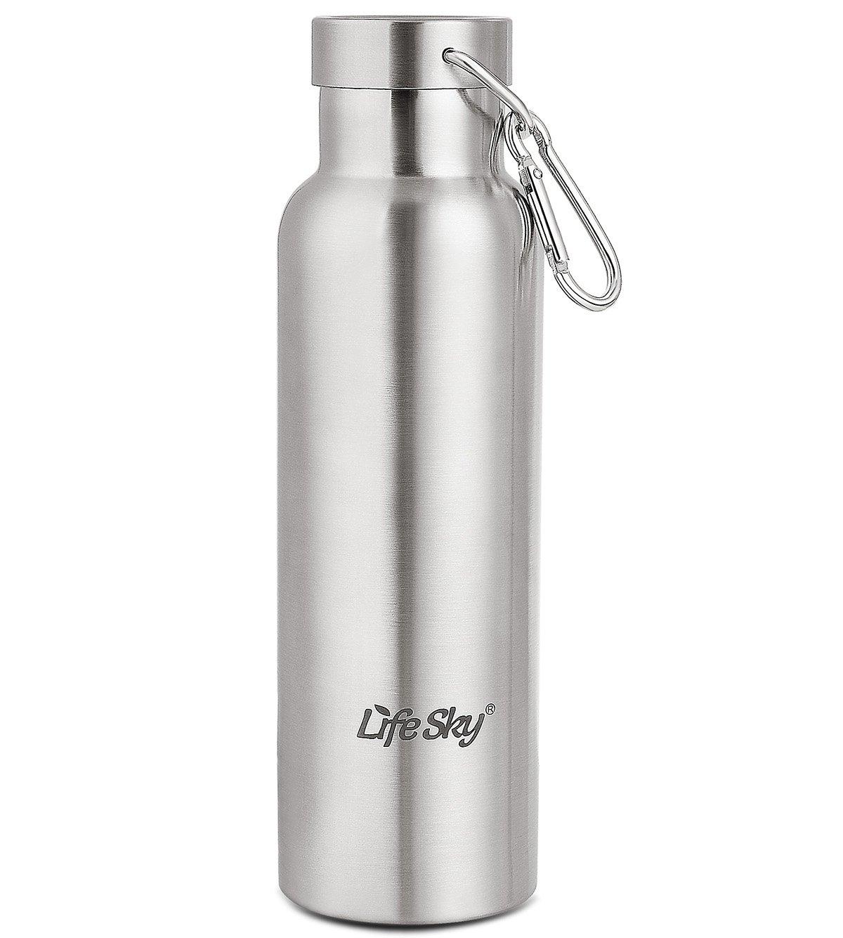 LifeSky Thermo-Kaffeebecher, Edelstahl (20 oz), BPA-frei ...