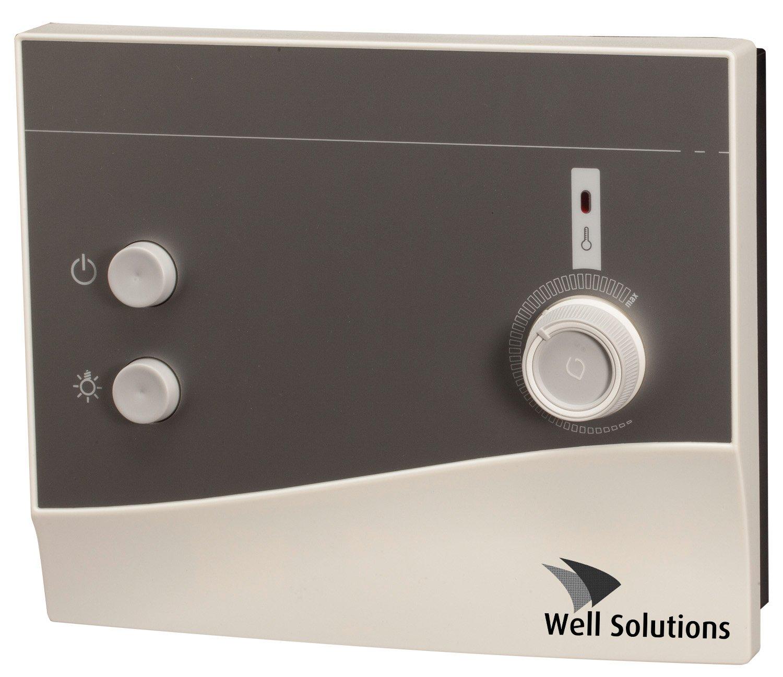 Well Solutions Sauna Steuerung K1 bis 9kW, Nachfolgegerä t Ondal K1-1 Well Solutions®