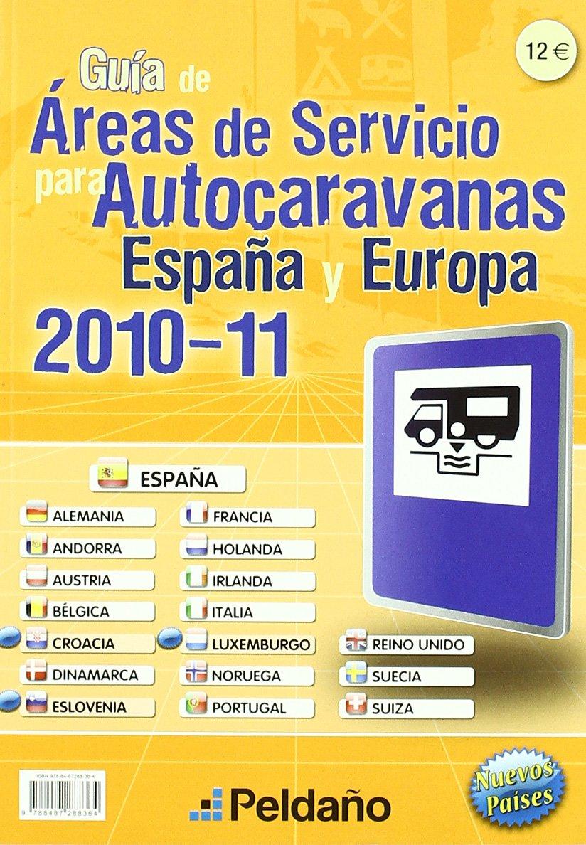 Guía de áreas de servicio para autocaravanas de España & Europa