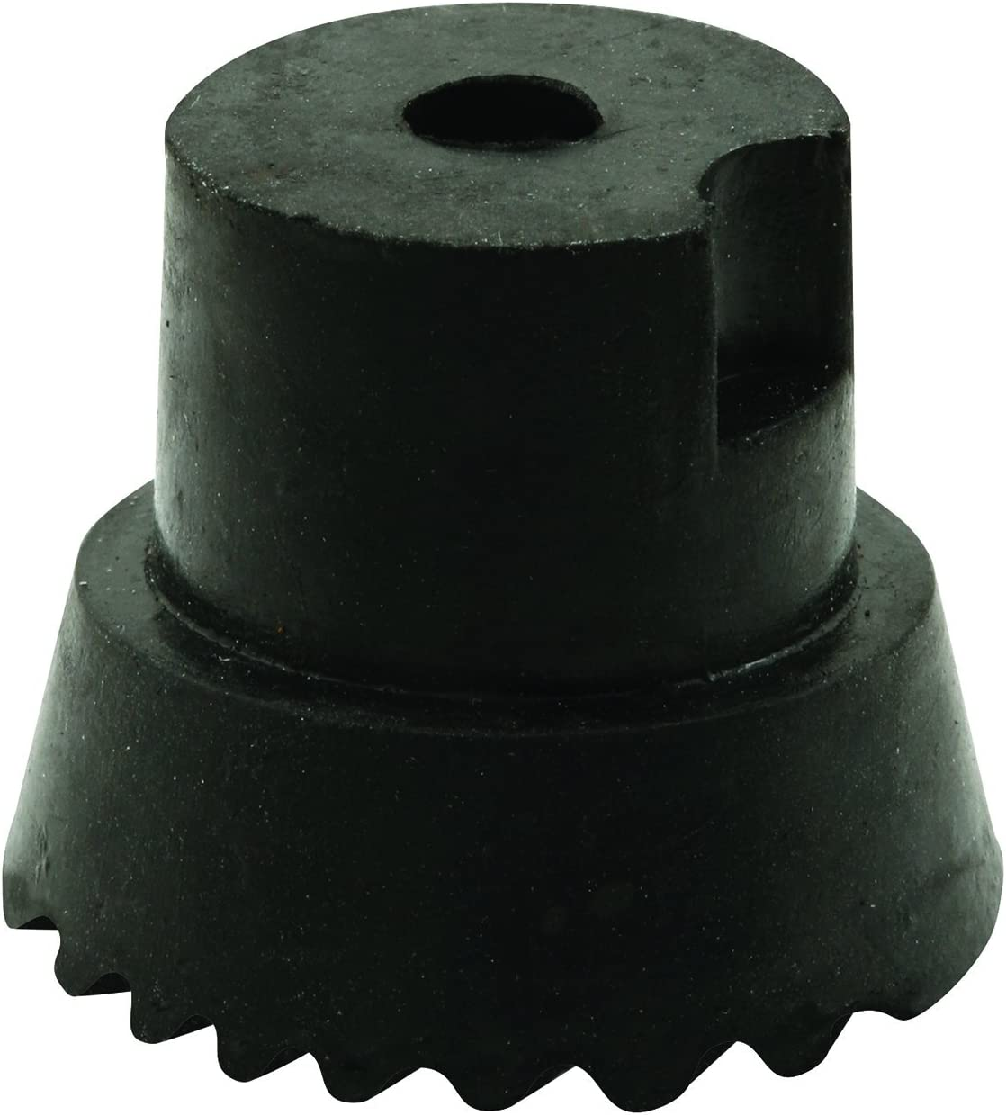 x 3//4 in Pack of 10, Prime-Line Products MP4557 Door Holder Tip 1 in Black Includes Fastener Rubber