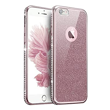 coque iphone 8 silicone paillette