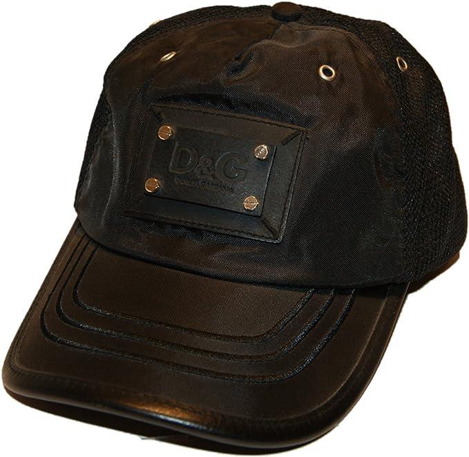 Dolce & Gabbana - Gorra de béisbol - para hombre Negro negro Talla ...