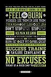 empireposter Motivational - Gym - No Excuses - Größe (cm), ca. 61x91,5 - Poster, NEU -