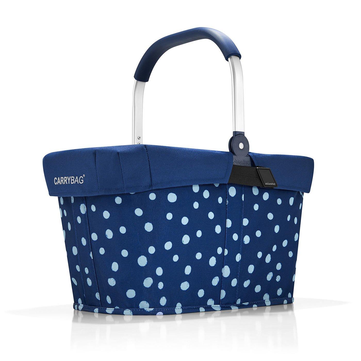 Reisenthel carrybag spots navy Henkelkorb Einkaufskorb + Cover Abdeckung navy blau REISENTHEL ACCESSOIRES