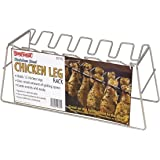 Bayou Classics 0770 Chicken Leg Stainless Steel Grilling Rack - 12 Leg Size