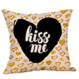 BEUU Happy Valentine's Day Throw Pillow Case