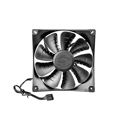 Improves Chassis and Radiator Performance EVGA FX 140mm Fan Teflon Nano-Steel Bearing 3 Year Warranty 400-HY-FX13-KR