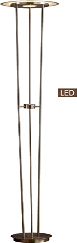 Artiva USA LUCIANO LED Torchiere Floor lamp