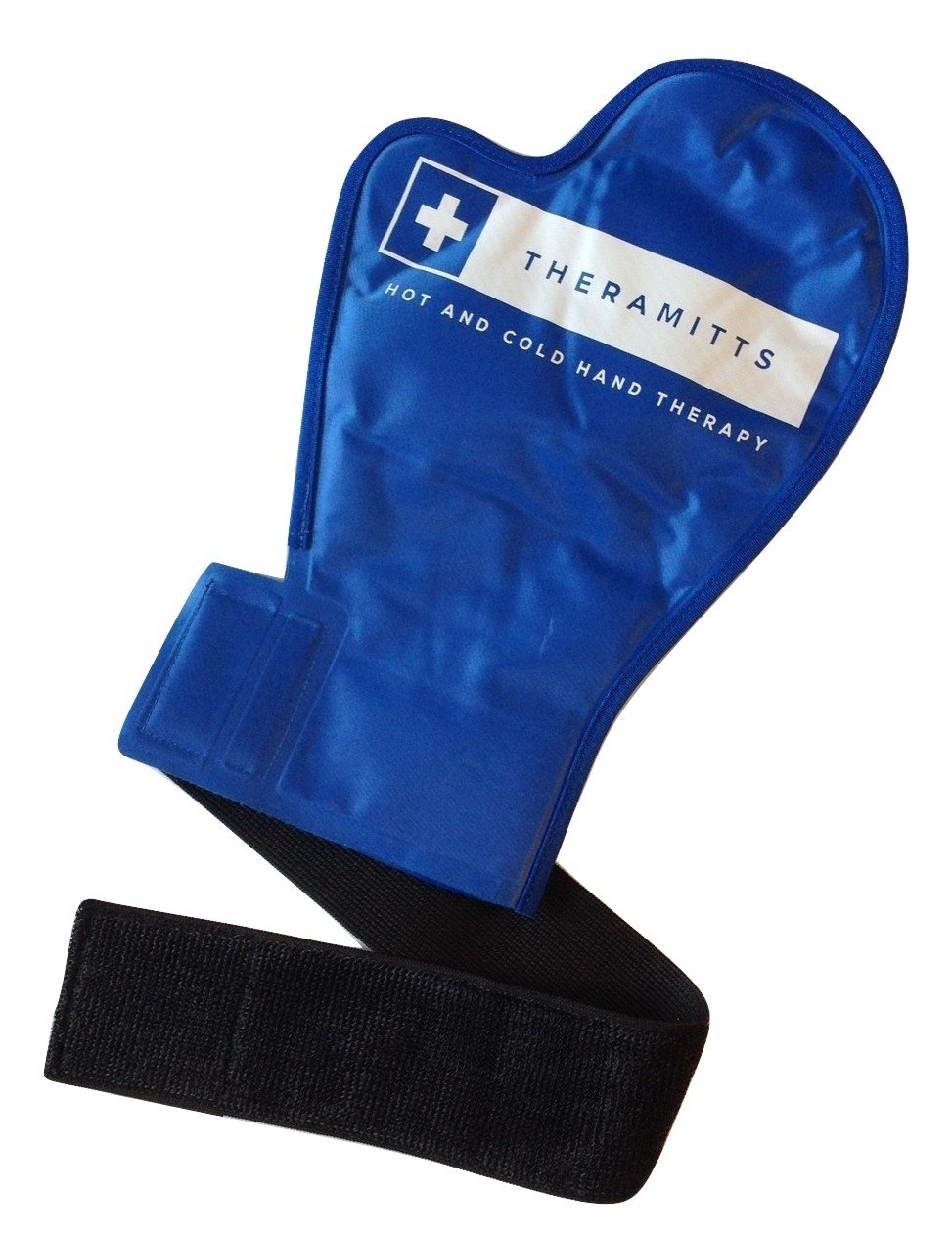 Hot and Cold Therapy Gel Gloves (Single) - Ice and Heat Therapy Mittens for Arthritis, Finger and Hand Injuries, and Carpal Tunnel by TheraMitts