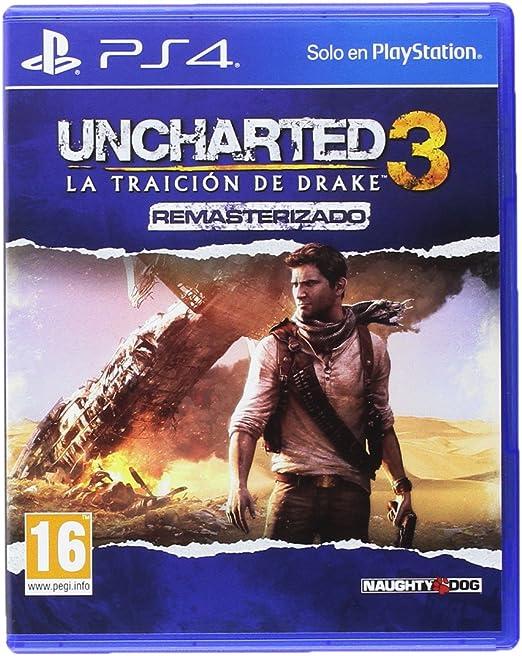 Uncharted 3: La Traición De Drake Remasterizado: Amazon.es: Videojuegos