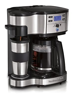 Hamilton Beach 49980Z Single Serve Coffee 2 Way Brewer best price