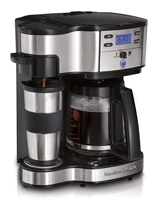 best combination pot and single serve coffee machine