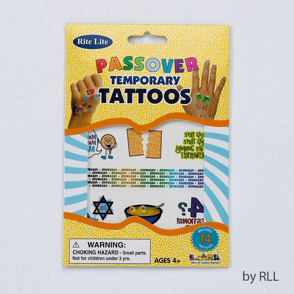 Passover Temporary Tattoos