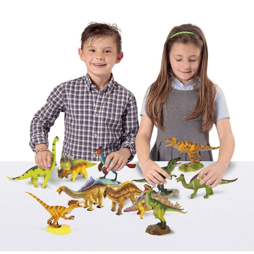 fguras Geoworld DeQUBE Trading S.L. CL1544K Velociraptor y Brachiosaurus