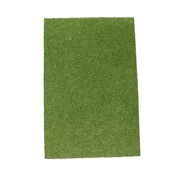 Gazechimp 3pcs Césped de Simulación de Plástico Sod Grass ...