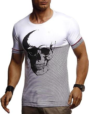 t-shirt tête de mort homme 11