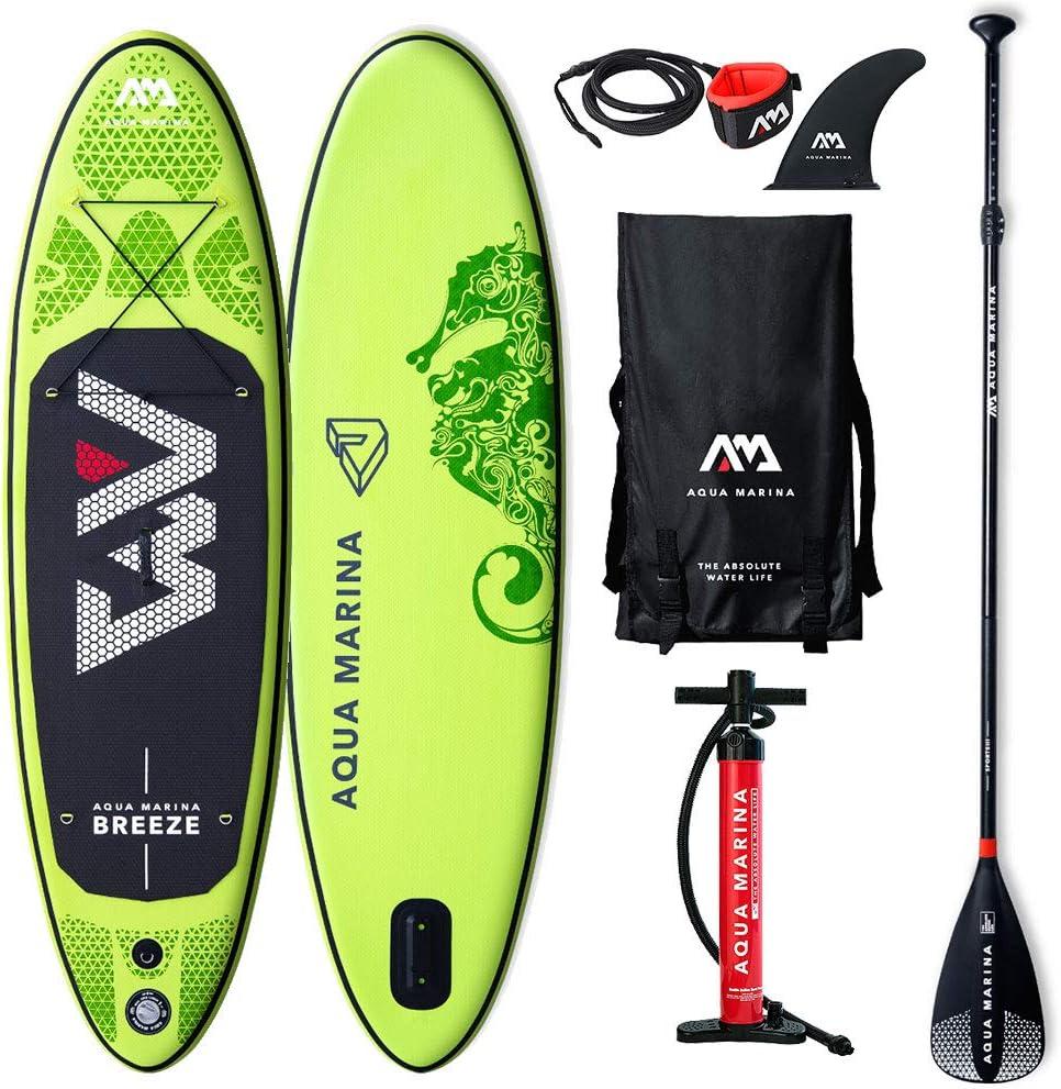 Aqua Marina BT-19BRP Breeze Stand Up Paddle Board - Tabla de ...