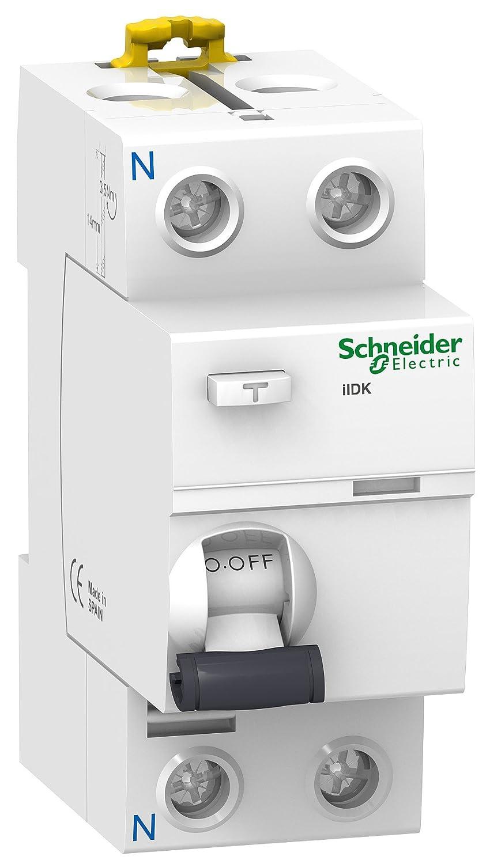 Schneider Electric A9R60240 Interruptor Diferencial, 2P, 40A, 30mA, Clase AC