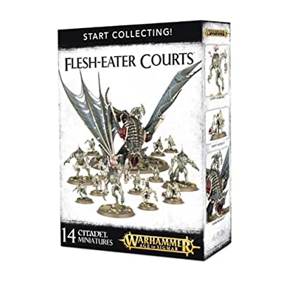 "Games Workshop 99120207039"" Flesh-Eater Courts: Star Collecting Action Figure: Toys & Games"