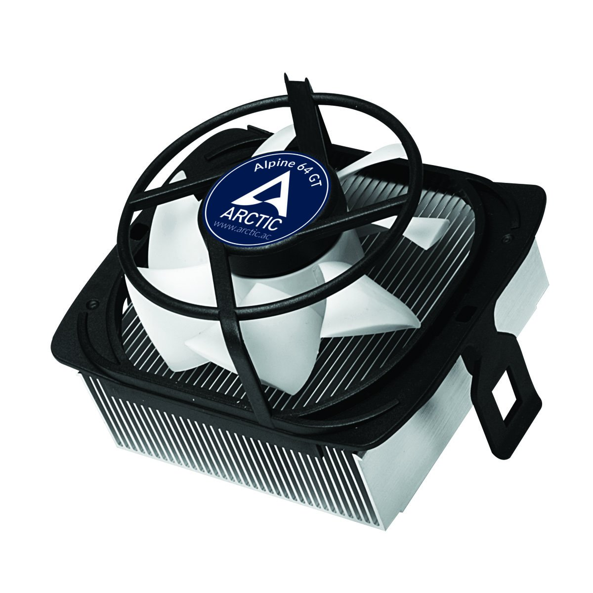 ARCTIC Alpine 64 GT - Supports AMD AM4 | CPU Cooler for Quietness I Ultra-Quiet 80mm PWM Fan