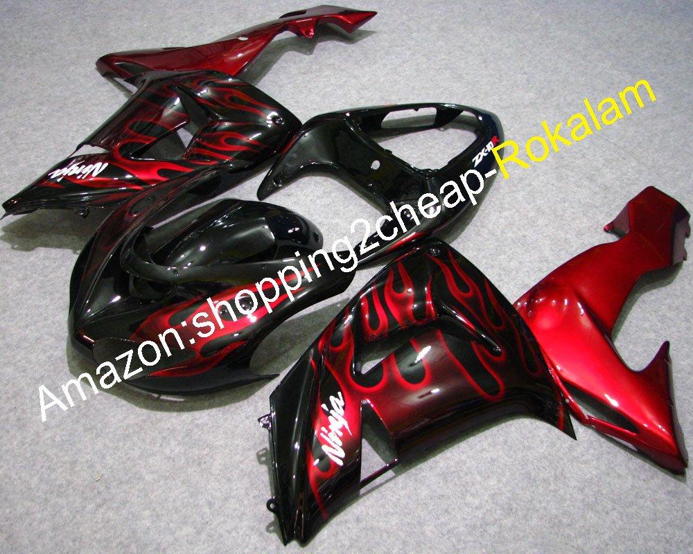 Amazon.com: For Kawasaki Ninja ZX-10R 2006 2007 ZX10R 06 07 ...