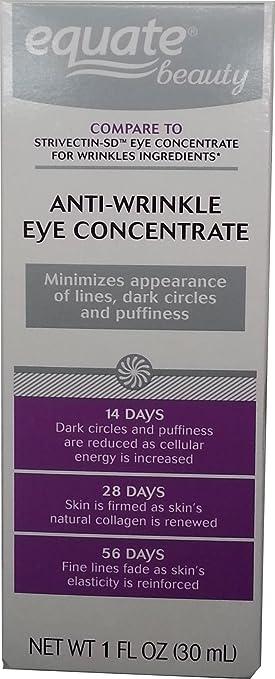 Equate Beauty Anti-Wrinkle Eye Concentrate, 1 fl oz Juvena Pure Refining Peeling 100ml/3.4oz