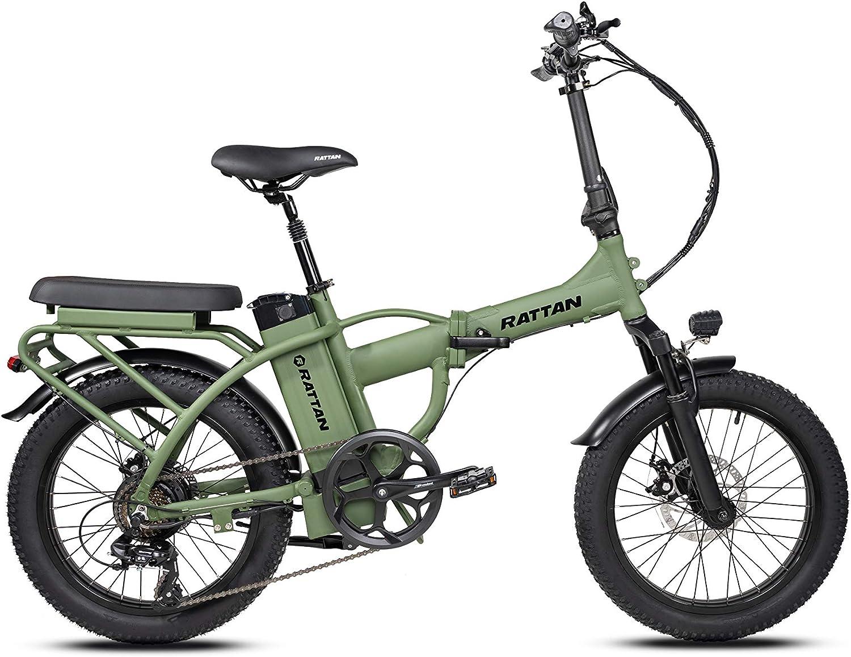 I·PAS Rattan Mini E-bike