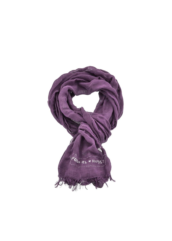 Polo Ralph Lauren - Bufanda - para hombre Morado violeta Talla ...