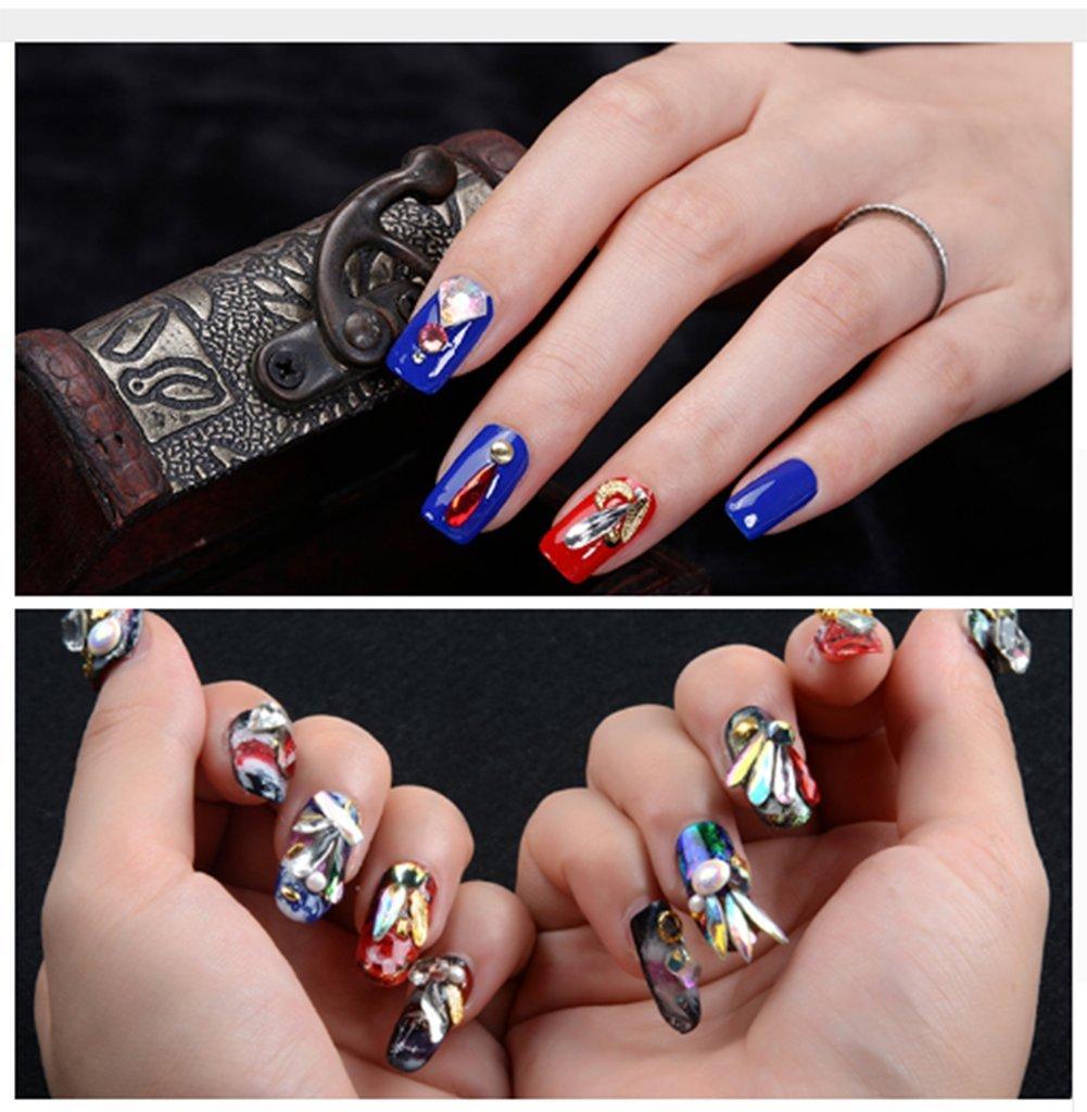 Amazon.com: YesLady - Adornos para decoración de uñas ...