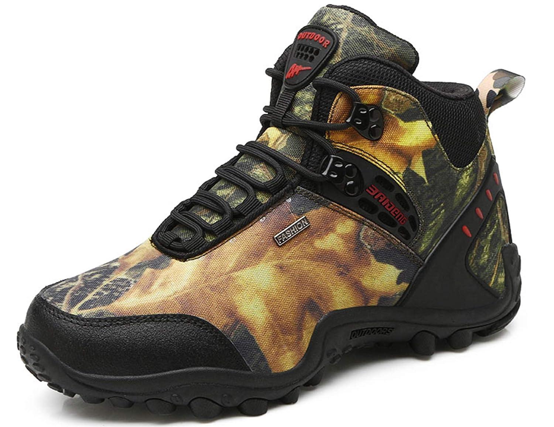 GNEDIAE Homme Chaussures Sports de Plein Air Randonnée et Escalade Chaussures Talon...