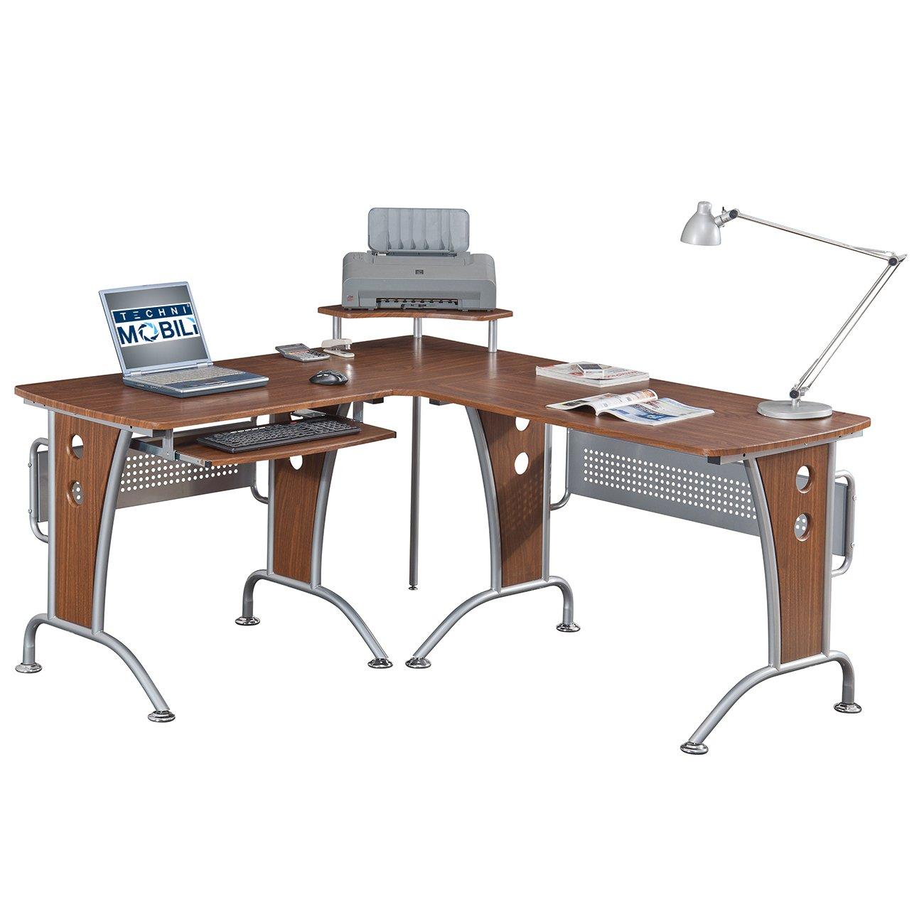 Amazon.com: Space Saver Computer L Desk: Kitchen & Dining