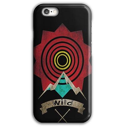 new arrival 6cfef e0ff9 Amazon.com: Wellcoda Wild Target Art Fashion Sunny 3D iPhone 6 Plus ...