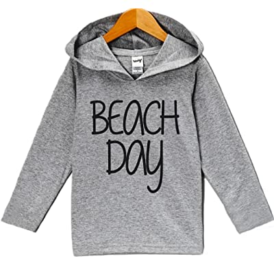 Custom Party Shop Unisex Baby Beach Day Summer Hoodie Pullover