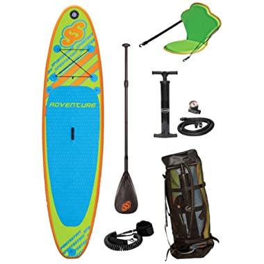 Sportstuff Adventure Stand Up Paddleboard with Accessories
