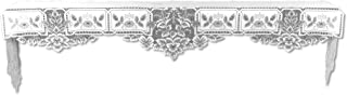 product image for Heritage Lace Heirloom 20-Inch by 91-Inch Mantle Scarf, White