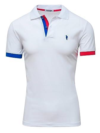 Emporio Collection - Polo - para Hombre Bianco XXXL: Amazon.es ...