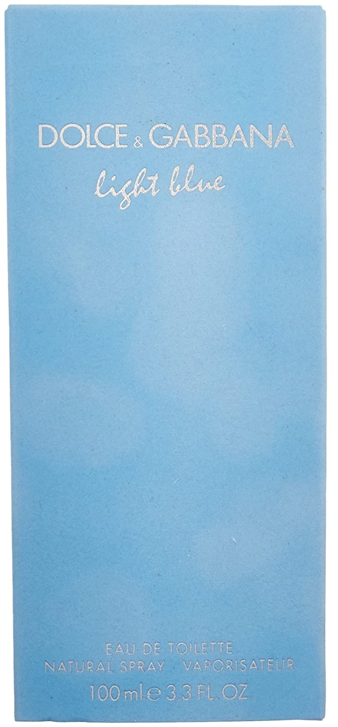 Light Blue Eau De Toilette Perfume 3.4 oz for Women