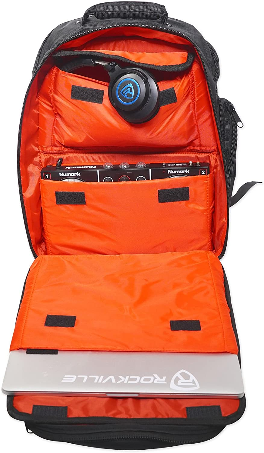 Rockville Travel Case Backpack Bag For Allen /& Heath ZEDi-10 Mixer