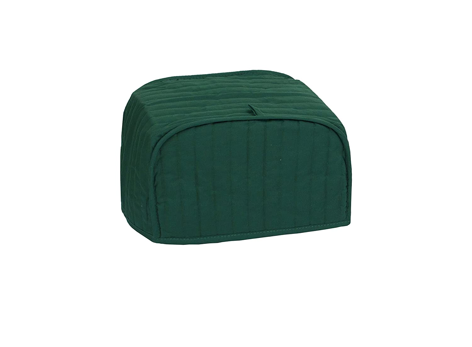 RITZ Polyester / Cotton Quilted Two Slice Toaster Appliance Cover, Dust and Fingerprint Protection, Machine Washable, Dark Green