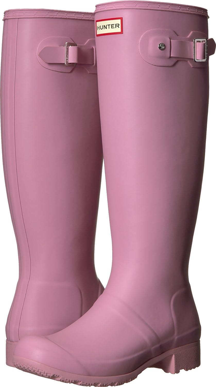 Hunter Womens Original Tour Rain Boots B0758FKKZR 8 B(M) US Blossom
