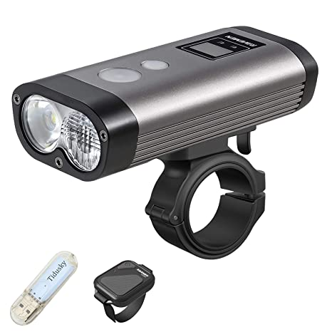 LED Head Lamp Torch USB Rechargeable Bike Front Light Road MTB Bicycle Cycling