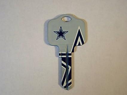 Dallas Cowboys Kwikset Blank House Keys KW1 - NFL Licensed at ... 6f6f3229d