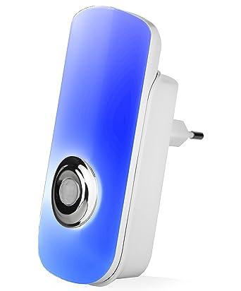 styletec LED Luz nocturna luz/enchufe con detector de movimiento/Linterna con carga por