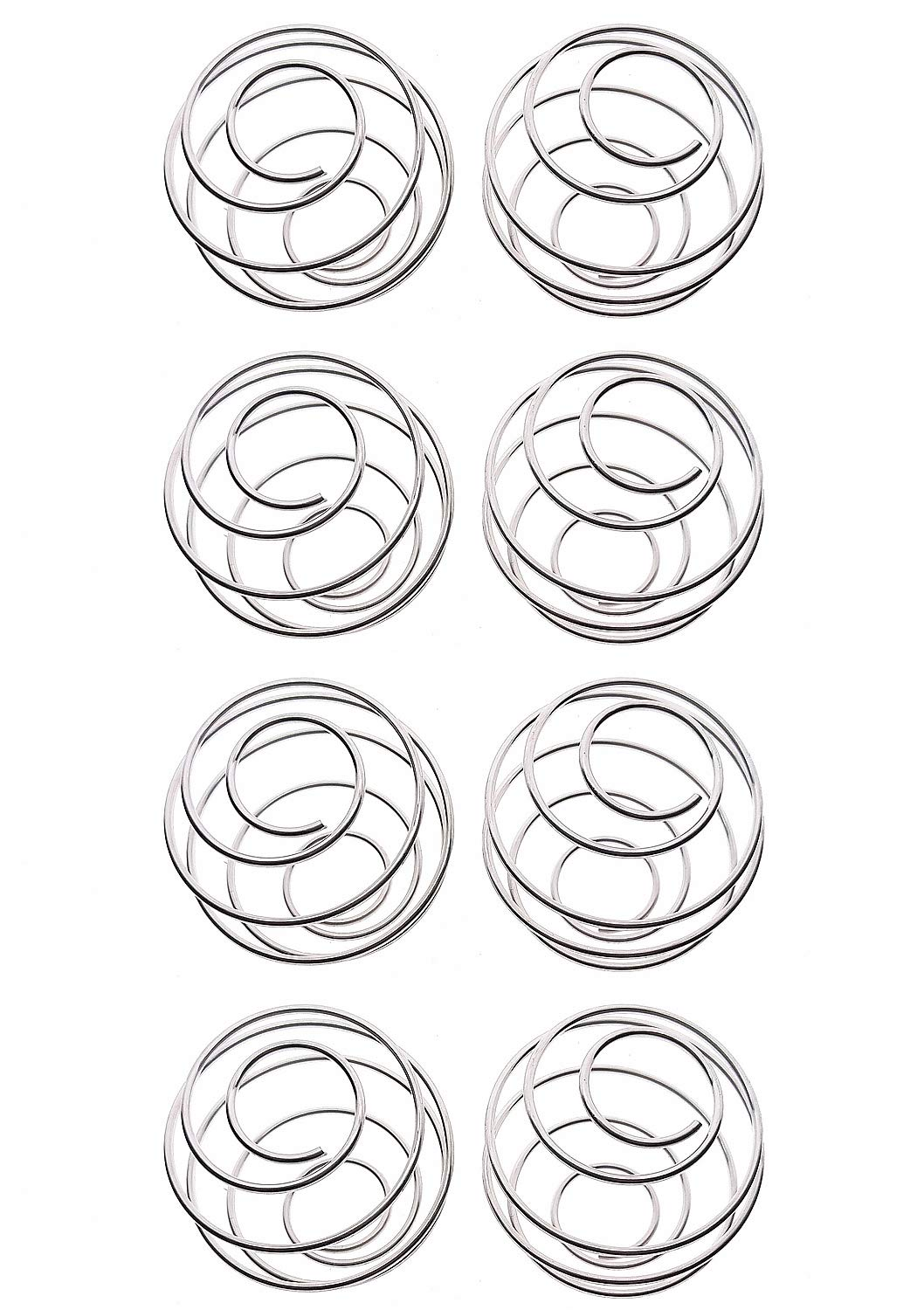 YOFAN 8-Pack Milkshake Protein Blender,Wire Mixer Mixing Ball For Shaker,Drinking Bottle Cup (304 Food Grade Stainless Steel)